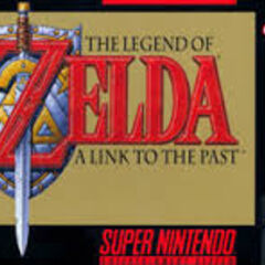 Amerykańska okładka gry The Legend of Zelda: A Link to the Past