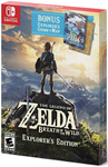 BOTW Jaquette Nord-Américaine Explorer's Edition Switch
