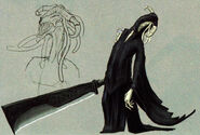 Espada de la Muerte boceto TP