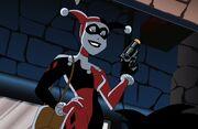 Harley Quinn presentándose