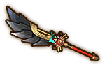 Hyrule Warriors Naginata Sheikah Naginata (Level 3)