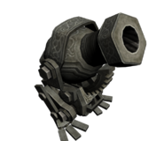 Hyrule Warriors Twili Midna Sky Cannon (Model Render)