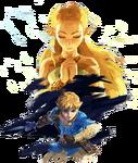 Link Zelda Pass Extension Artwork BOTW