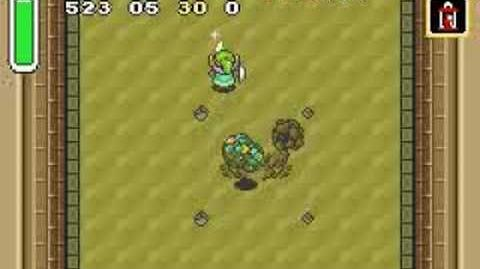 Zelda A Link to the Past - Boss 2 - Lanmolas