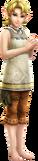 Zelda con las ropas de Ilia