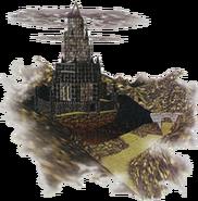 Ganon's Castle Artwork (Ocarina of Time)