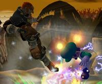 Ganondorf Salto oscuro SSBM