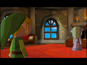 Link encuentra a Zelda fantasma