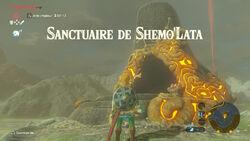 Sanctuaire de Shemo'Lata BOTW