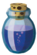 Blue Potion Artwork (The Wind Waker)