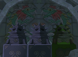 Dragon Roost Cavern Mural