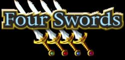 The Legend of Zelda - Four Swords (logo)