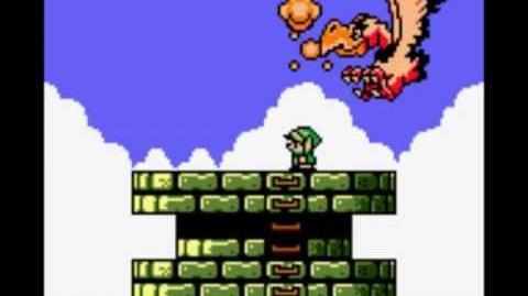 Zelda Link's Awakening - Boss 7 Evil Eagle-0