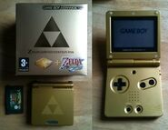 Coffret GameBoy Advance Zelda 3