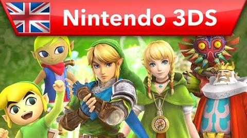 Hyrule Warriors Legends - Characters Trailer (Nintendo 3DS)