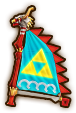 Hyrule Warriors Legends Sail Sail of Red Lions (Level 3 Sail)