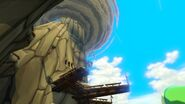 Isla del Dragón vista desde el punto de vista de Link en TWW HD