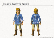 Island Lobster Shirt (Breath of the Wild)