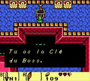 Cave Flagello Clé du Boss LADX