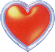 Contenedor de Corazón Artwork OoT