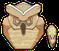 Estatua Búho