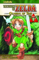 Manga de la saga The Legend of Zelda
