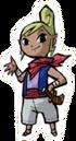 Tetra Sticker Super Smash Bros. Brawl