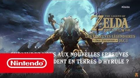 The Legend of Zelda Breath of The Wild – Le pack de DLC 1