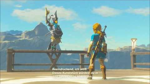 The Legend of Zelda Breath of the Wild - Revali Erinnerung Cutscene