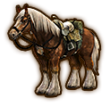 Hyrule Warriors Horse Twilight Epona (Level 2 Horse)