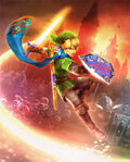 Artwork Hyrule Warriors Link
