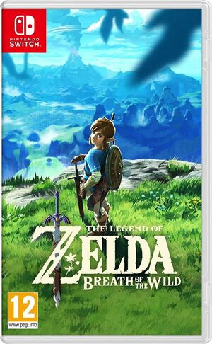 Breath of the Wild european Cover