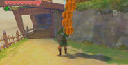 Link Carrying Pumpkins
