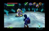 Link frente a un Wolfo blanco