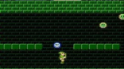 Zelda 2 - Fairy Warp Glitch Video 01