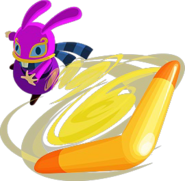 A Link Between Worlds Ravio Boomerang (Artwork)