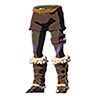 Breath of the Wild Faron Barbarian Armor Set Barbarian Leg Wraps (Icon).png