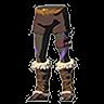 Breath of the Wild Faron Barbarian Armor Set Barbarian Leg Wraps (Icon)
