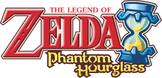 The Legend of Zelda - Phantom Hourglass (logo)