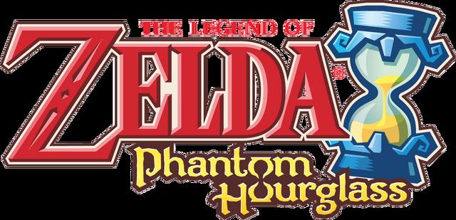 Файл:The Legend of Zelda - Phantom Hourglass (logo).png
