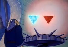 Trifuerzas en la serie animada