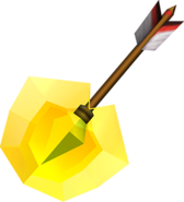 OoT3D Light Arrow Render
