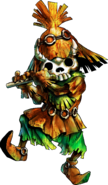 Skull Kid with Skull Mask