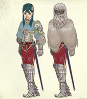 Twilight Princess Artwork Ashei (Concept Art)