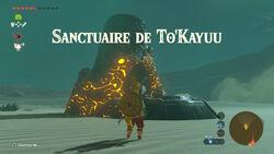 Sanctuaire de To'Kayuu BOTW
