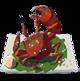 Crabe salé