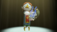 Hyrule Warriors Sage of Earth Medli Earth God's Harp (Victory Cutscene)