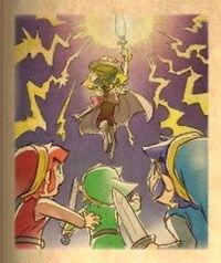 Lady Degala batalla final contra Link TFH