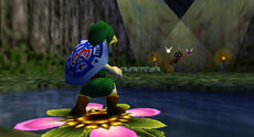Link encuentra Skull Kid MM