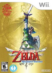 Legend of Zelda Skyward Sword boxart